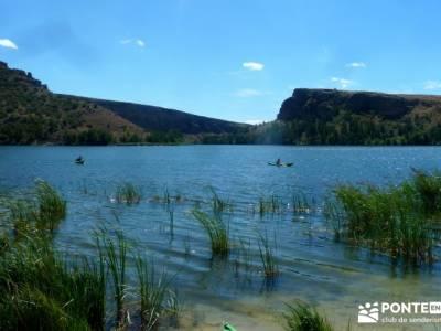 Piragüismo Hoces del Río Duratón;la panera nacimiento rio cuervo boca del asno